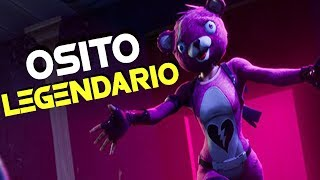 FORTNITE - PLAYING WITH THE NEW SKIN LEGENDARY BEAR ROSE !!