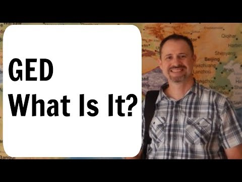 What Is A GED?  MUST WATCH BEFORE YOU TRY TO GET ONE!
