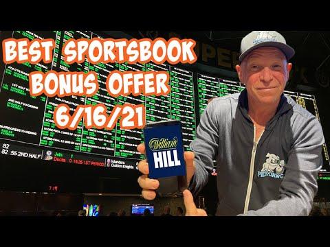 Best Online Sportsbook Bonus Offer for Today 6/16/21