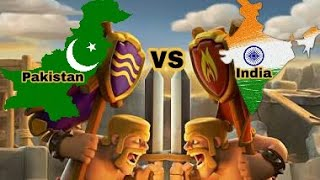 Clash of clans / Pakistan vs india new 2nd war 2018 by (clash of gamer)