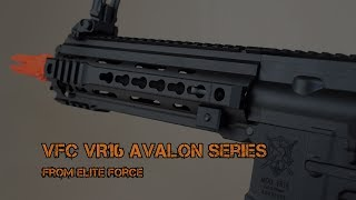 VFC VR16 Avalon Calibur and Saber from Elite Force - Fox Airsoft
