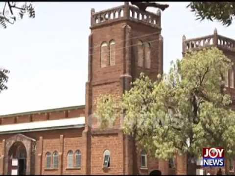 Justice Bedu Reports; A 19 Century Church In Nandom, Upper West Region of Ghana, West Africa