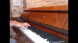 А.Макаревич - Пока Горит Свеча.Фортепиано.(12лет)