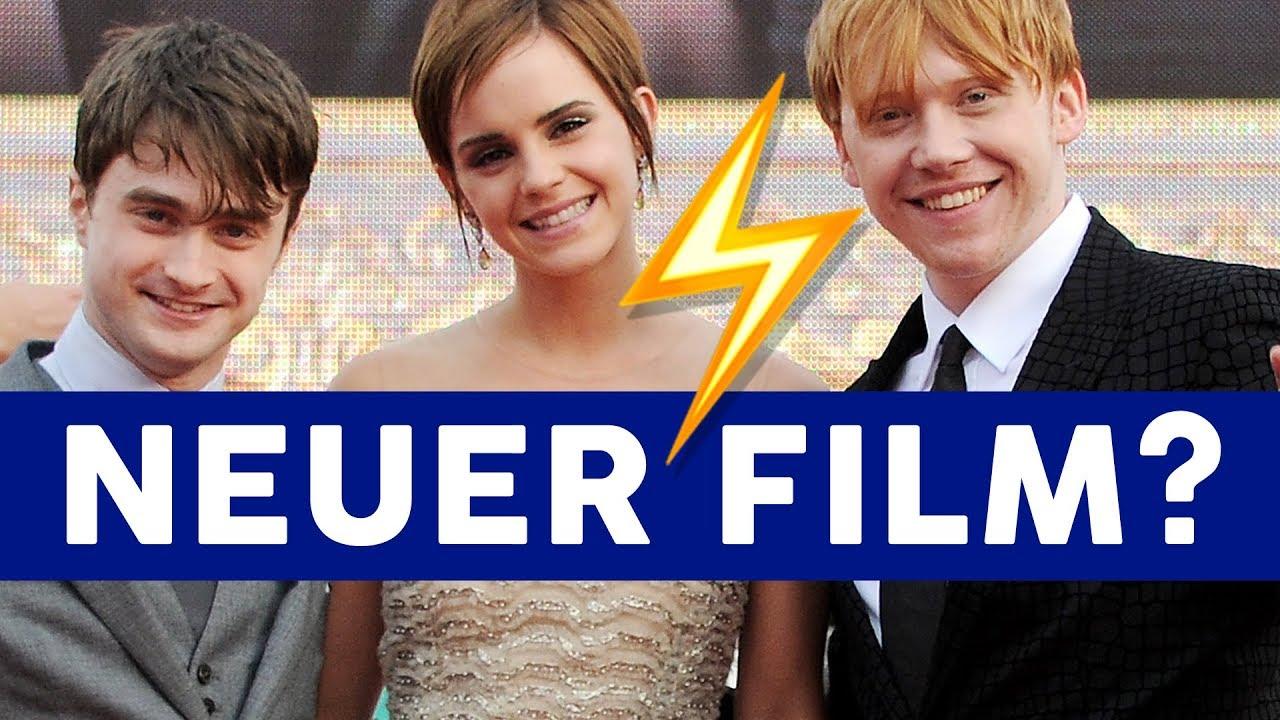 Neuer Harry Potter Film Das Sagt J K Rowling Youtube