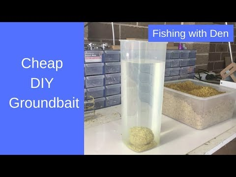 Cheap Groundbait - Make And Mix Your Own Groundbait