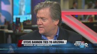Steve Bannon has ties to Biosphere 2