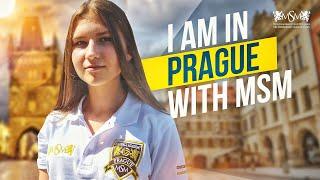 I am in Prague with MSM / Я в Праге с МСМ!
