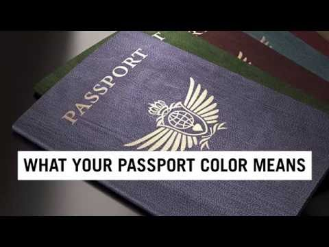 What Your Passport Color Really Means | Travel + Leisure