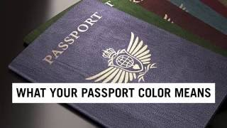 What Your Passport Color Really Means   Travel + Leisure