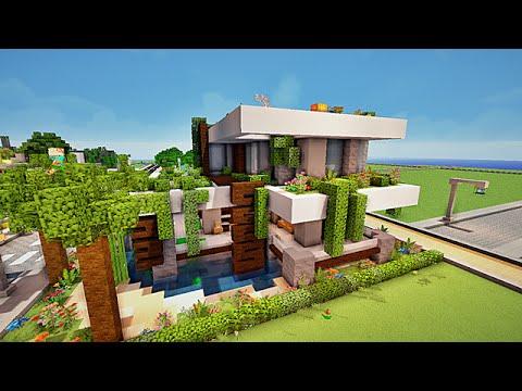 Download video minecraft maison moderne by venom - Comment creer une belle maison dans minecraft ...
