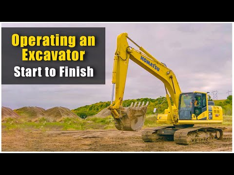 How To Operate An Excavator (2019): Pre-Op To Shut Down | Heavy Equipment Operator