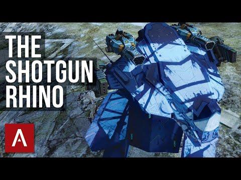 War Robots: RHINO SHOTGUN GAMEPLAY | Storm Gust Build