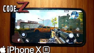 Code: Z English Version on iPhone XR Gaming Test (High Graphics)