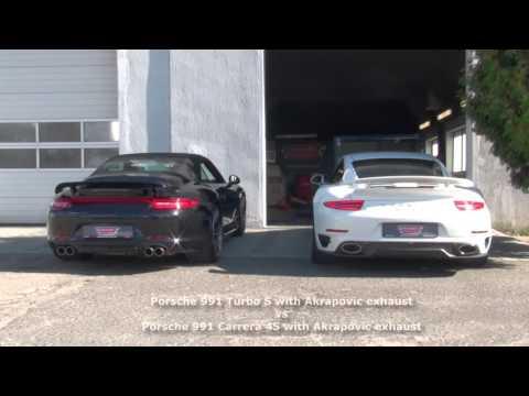 Porsche 991 Turbo S 620HP 880Nm AKrapovic Exhaust By Pachura Moto Center