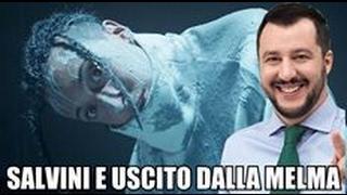 Parodia Ghali Ninna Nanna Salvini e uscito dalla melma