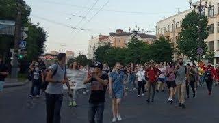Протесты в Хабаровске в поддержку губернатора Сергея Фургала.День шестой / LIVE 16.07.20