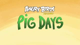 Angry Birds Seasons: Pig Days Weekly Levels!