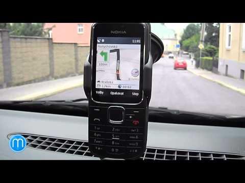 Nokia 2710 Navigation Edition - ukázka navigace