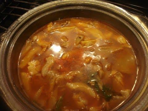 Sabrosa  Sopa de Hongos Setas