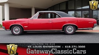 #7277 1966 Pontiac GTO - Gateway Classic Cars of St. Louis