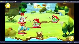 Angry Birds Epic Walkthrough Part 4: Cobalt Plateaus Levels 8-12 and Matilda's Garden