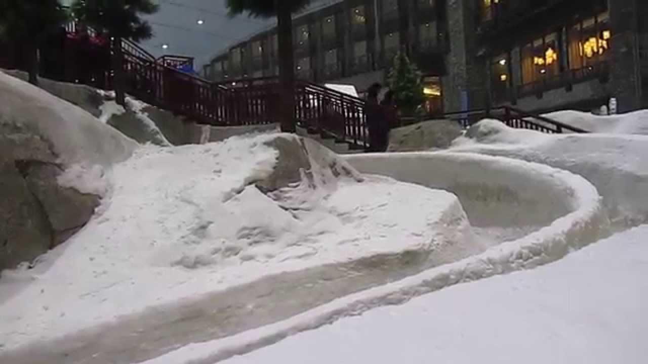 سكي دبي الثلجي Ski Dubai 2015 Youtube