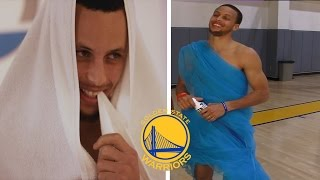 NEW FUNNY Golden State Warriors MOMENTS Ft. Stephen Curry, Kevin Durant PART 2