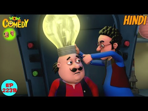 Motu Ki Roshni - Motu Patlu in Hindi - 3D Animated cartoon series for kids - As on Nick thumbnail