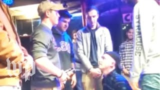 Syracuse fraternity suspended for 'racist, anti-Semitic, homophobic' video thumbnail