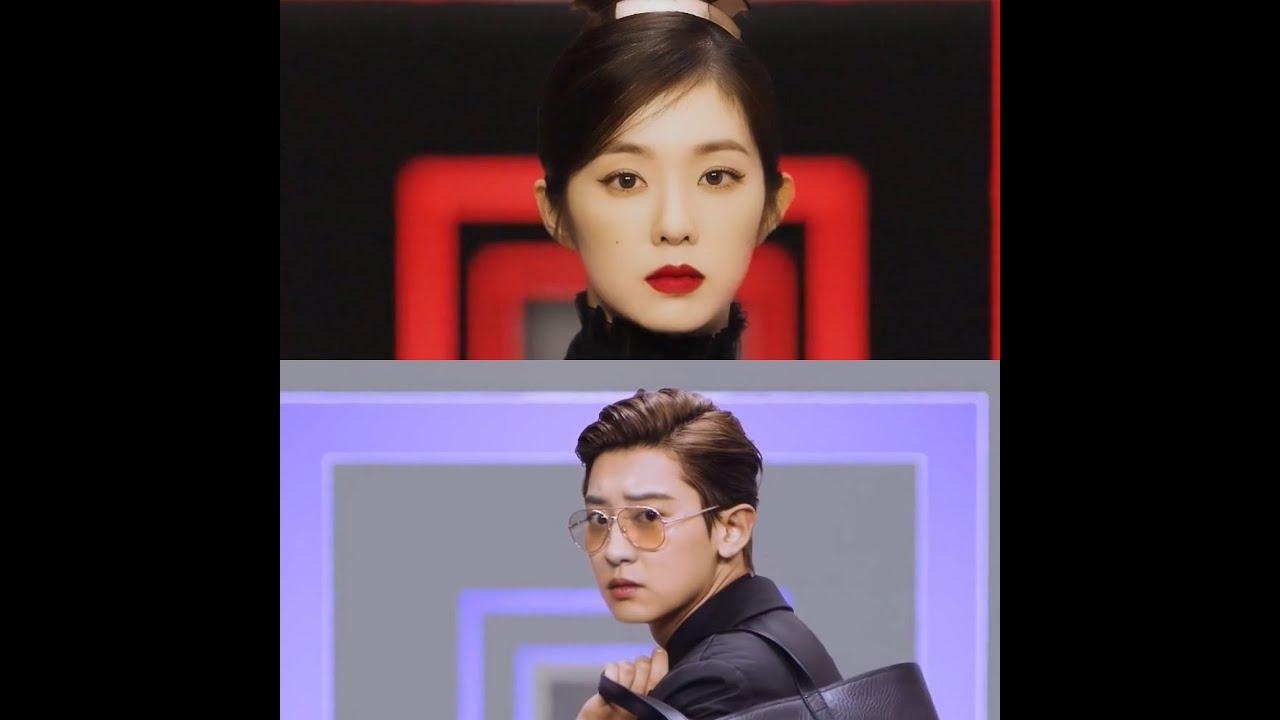 Red Velvet Irene & EXO Chanyeol - Prada FW20 x Vogue Korea CF