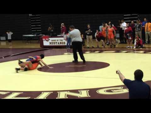 Arielle wrestling @ Wekiva High School