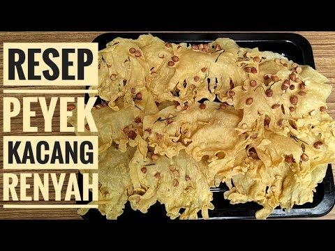 Download Resep peyek kacang renyah
