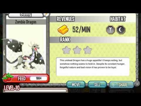 EASY How To Breed ZOMBIE Dragon In Dragon City On Facebook   How To