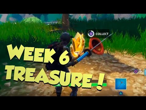 Fortnite WEEK 6 TREASURE LOCATION!!
