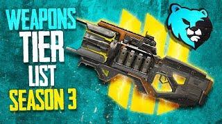 Ranking Every Weapon in Apex Legends Season 3 Weapon Tier List