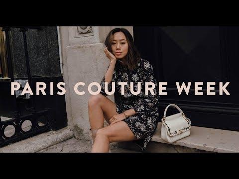 Paris Couture Week Vlog & My Uber Kidnap Story  Aimee Song