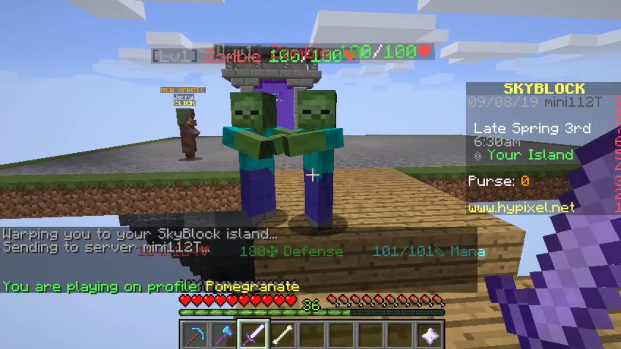 minecraft hypixel skyblock part 8 making money the finale