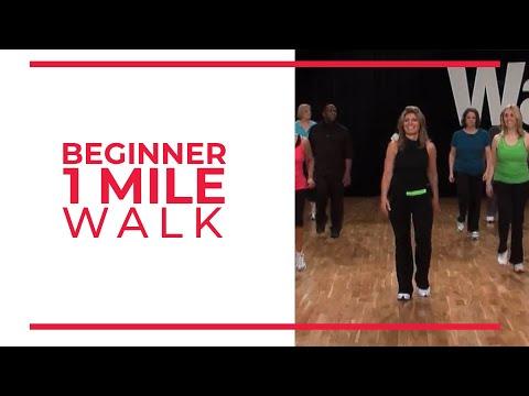 Beginner 1 Mile Walk | Walk at Home