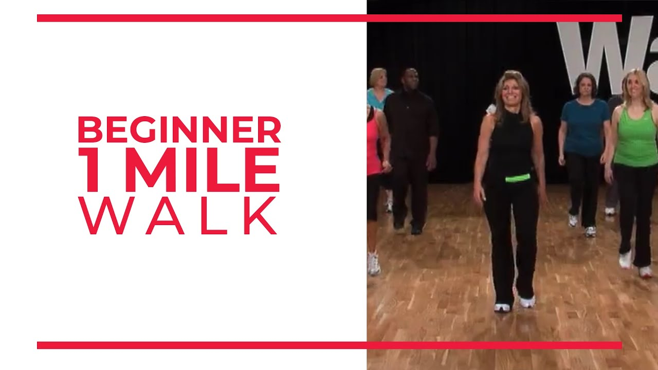 Beginner 1 Mile Walk | Walk at Home