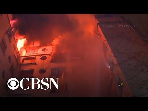 Arson suspected in Paris' deadliest fire since 2005
