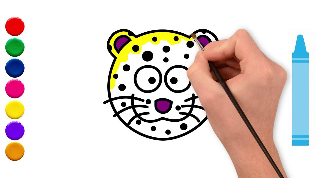 Como Desenhar Uma Onca Pintada Drawing And Coloring A Jaguar