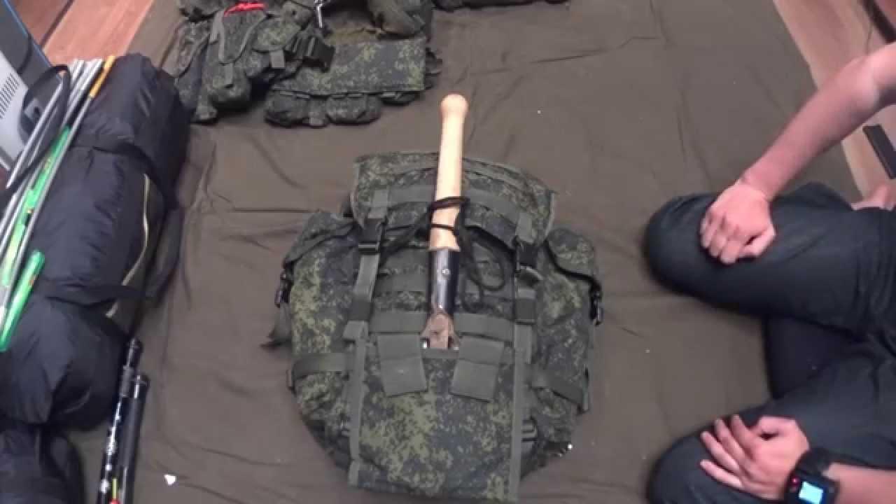 e1ea24921280 Ранец патрульный 6ш112 - YouTube