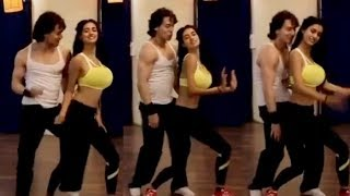 tiger Shroff and Disha Patani Dance Together HR Style for Baaghi 3 Promotion | B'day Special