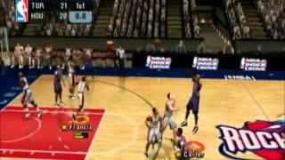 NBA Inside Drive 2003 Raptors vs Rockets Part 1