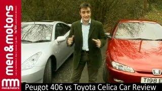 Peugot 406 vs Toyota Celica Car Review