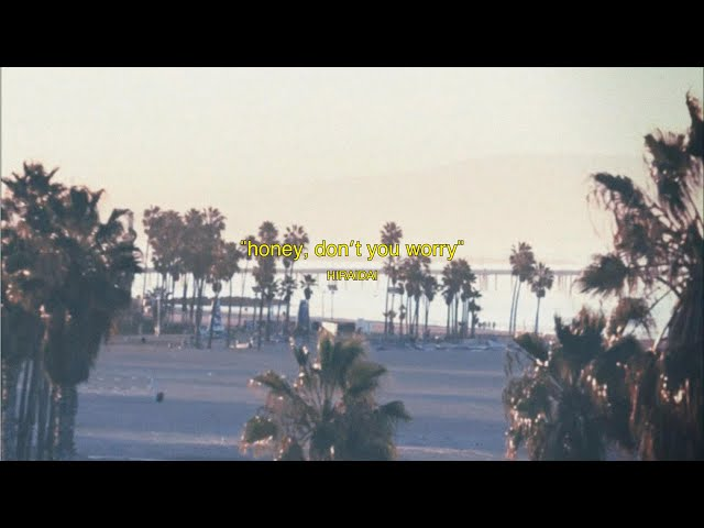 平井 大 / honey, don't you worry(Lyric Video)