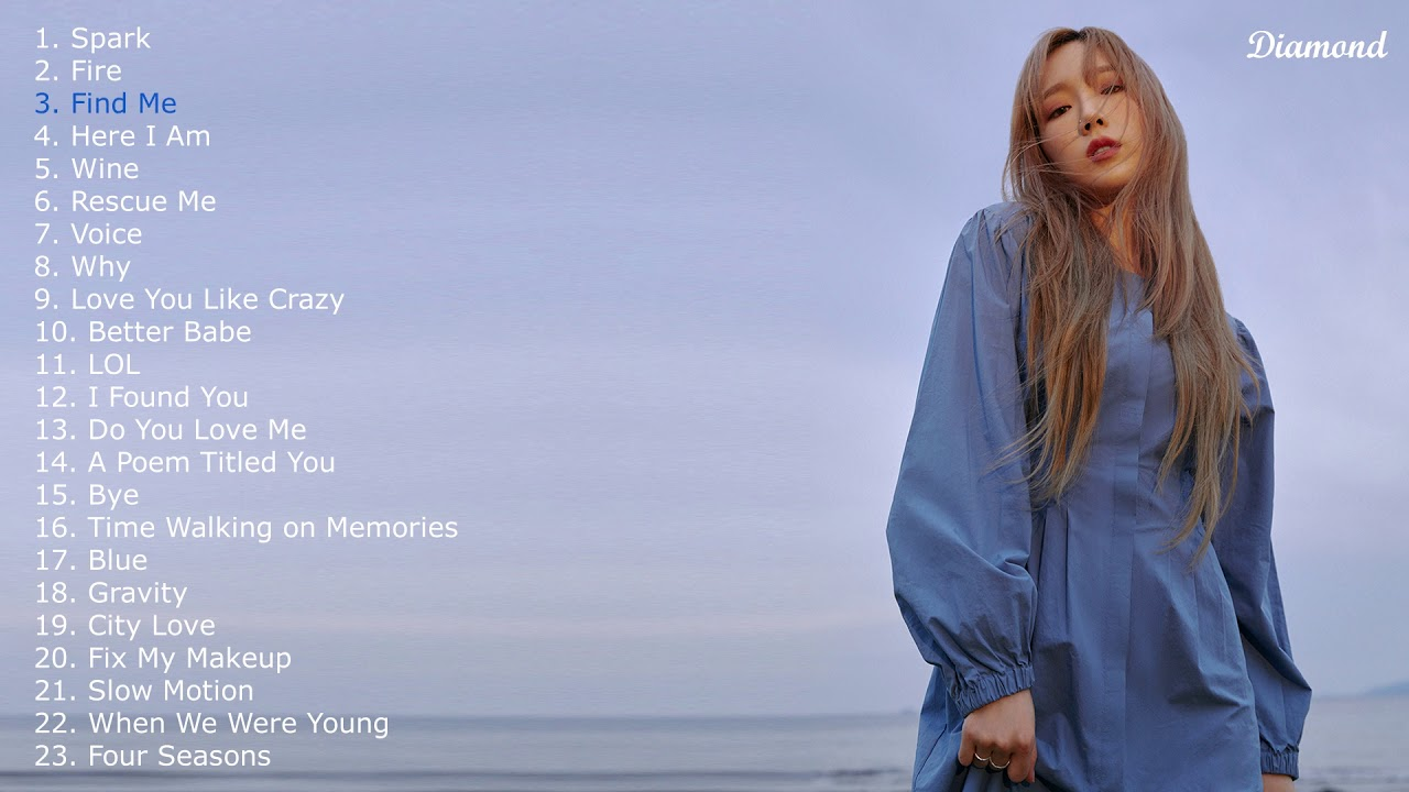 The best songs of Kim Taeyeon | Playlist 2019