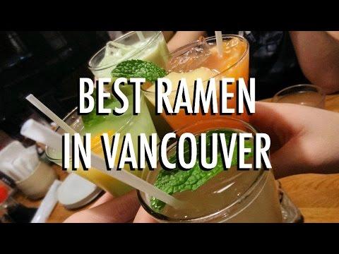 Best Ramen in Vancouver
