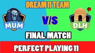 Mumbai vs Hyderabad Dream11 Team
