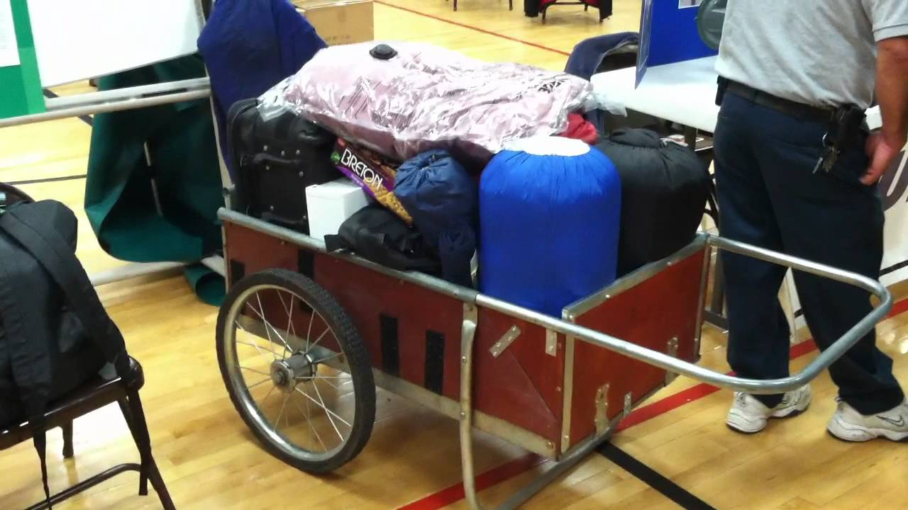Bug Out Cart : Modern day hand cart youtube